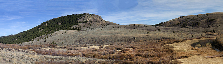 I captured this series of images at the mouth of 3 Mile which is north-east of Spencer, Idaho. It is comprised of 16 images.