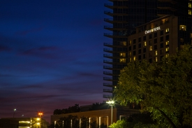 Evening Architectural Shot 2 in Fort Worth Texas