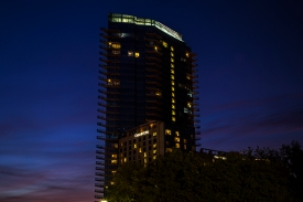 Evening Architectural Shot 3 in Fort Worth Texas